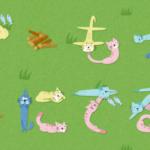 ネコ達が文字を作ってくれるジェネレータ 『ネコ文字』と『ねこフォント』
