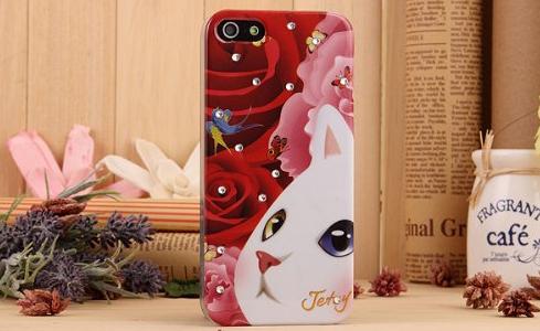 猫好き専用!【iPhone5s ケース】まとめ1/カラフルイラスト