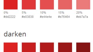 素敵便利!Sassのlightenやdarkenなどのカラーバリエーション生成ツール「Sass Color Generator」