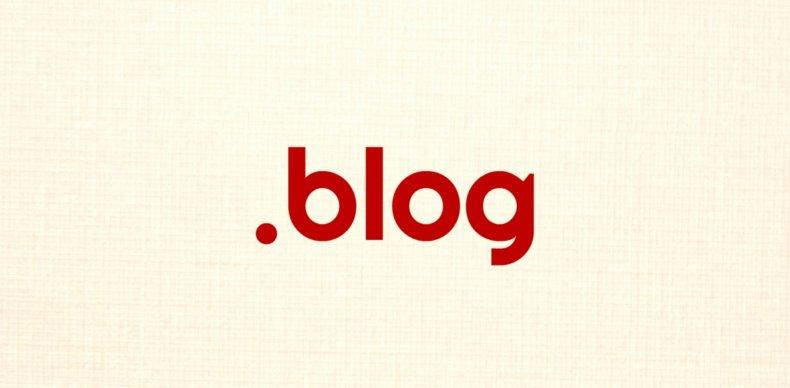 .blogドメイン